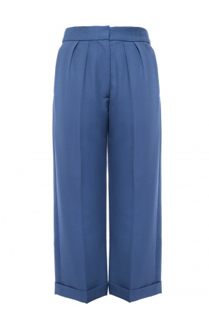 Pleat-front trousers od Burberry